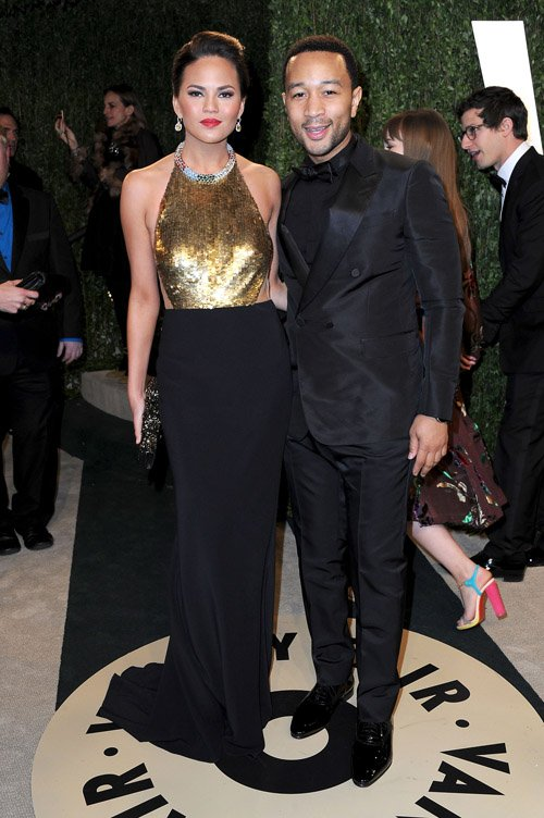 chrissy-teigen-john-legend-vanity-fair-oscars-party-2013